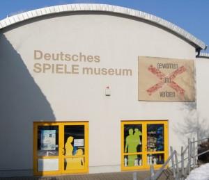 Außenansicht Spielemuseum
