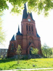 Vorderseite Markuskirche