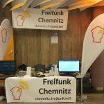 Unser Stand bei der Maker Faire Sachsen 2018